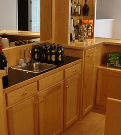 Custom Home Bars,Billiard Tables,Wall Units Blaine MN - Primo Craft